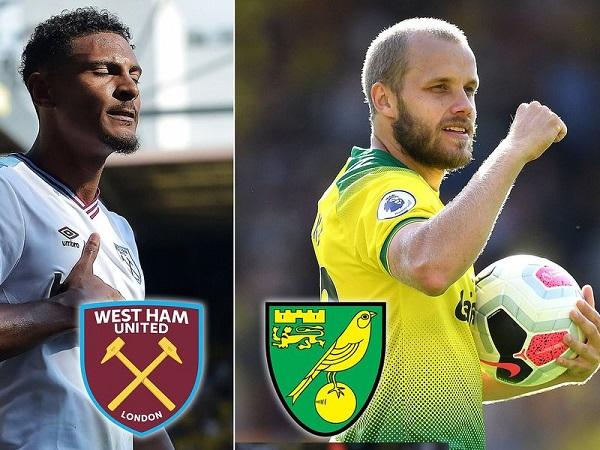Soi kèo West Ham vs Norwich, 21h00 ngày 31/08