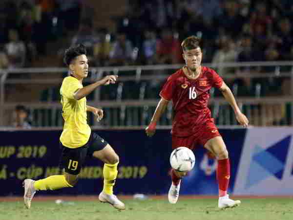U18 Việt Nam thắng Malaysia tại giải Đông Nam Á 2019