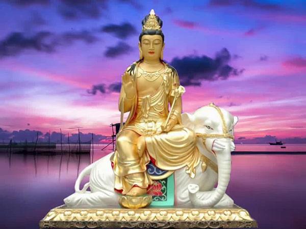 Phổ Hiền Bồ tát và 10 hạnh nguyện lớn nhất của người