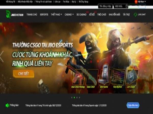 JBO Việt Nam cổng game đẳng cấp sở hữu nhiều điểm mạnh vượt trội