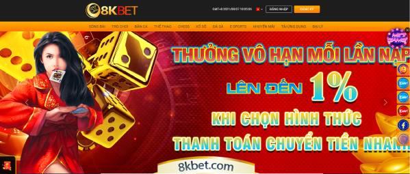 8K BET - Nhà cái hàng đầu Việt Nam